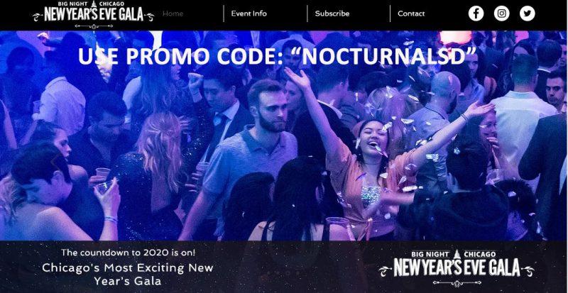 Discount Big Night Chicago NYE Tickets