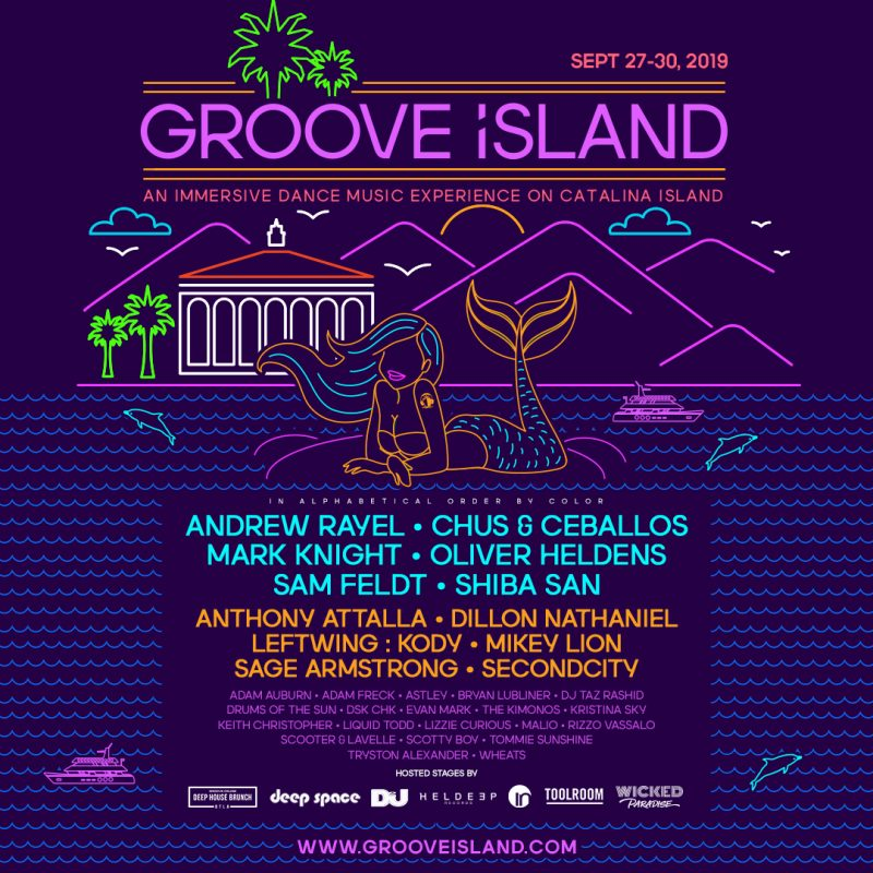 Groove Island Discount VIP Passes