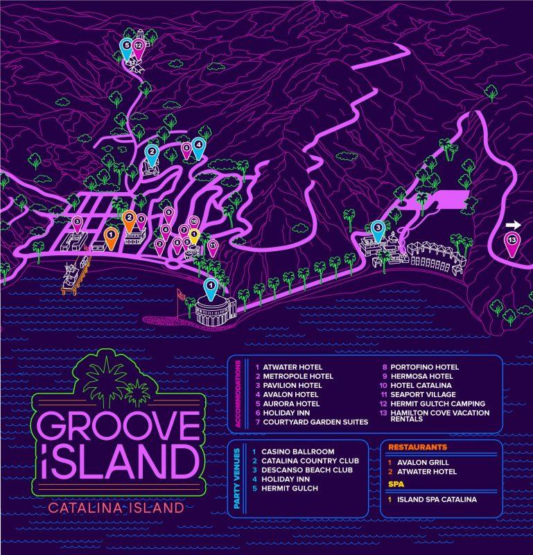 Groove Island Map