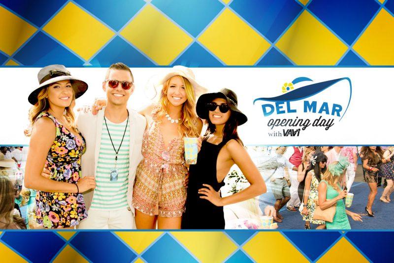 Opening Day Del Mar Vavi VIP Discount Passes, Opening Day Del Mar Vavi Discount Code 2019, Del Mar Racetrack, Del Mar Fairgrounds, Del Mar VIP Tickets, General Admission, Discount Passes