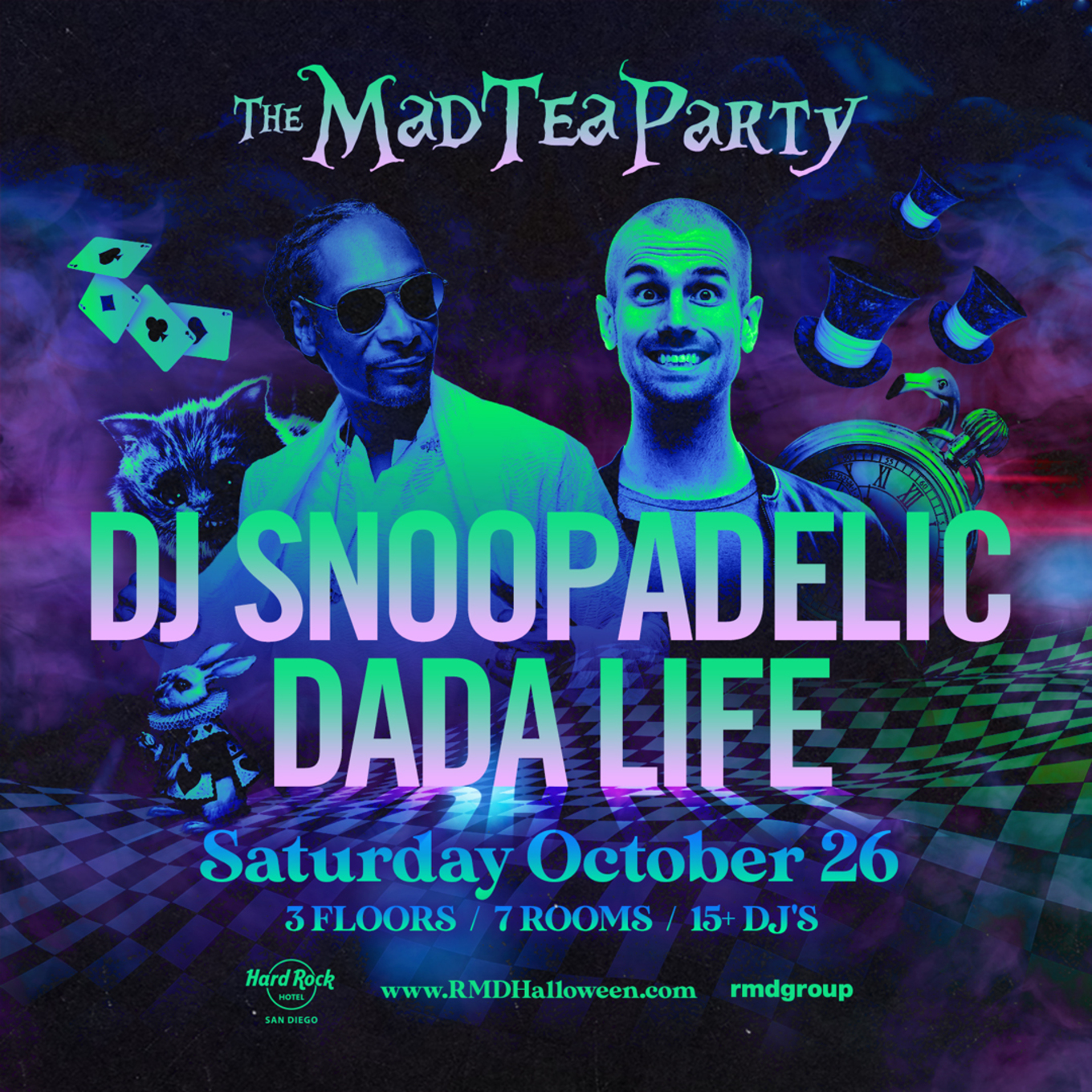 hard rock halloween mad tea party promo code discount snoop dada discount