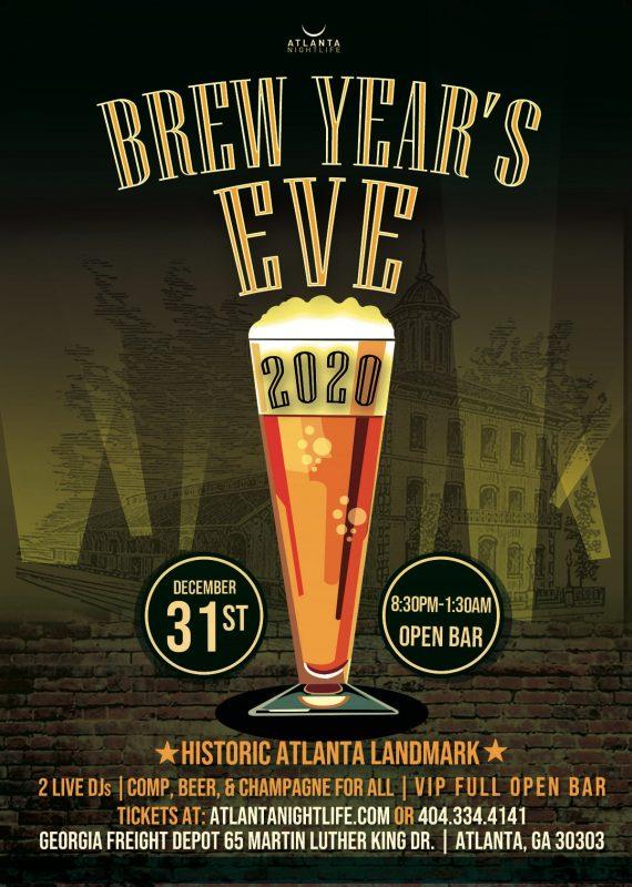 The BREW YEARS EVE ATLANTA 2020