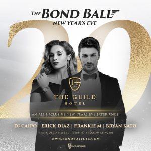 Bond Ball New Years Eve San Diego Gaslamp