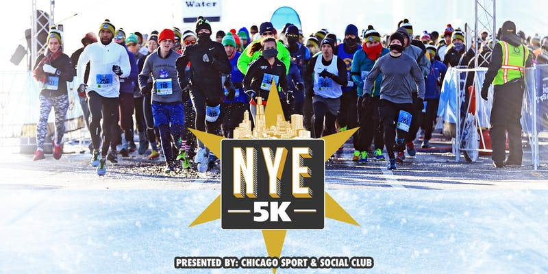 Chicago New Years Eve 5K Coupon Code discount promo code 2020