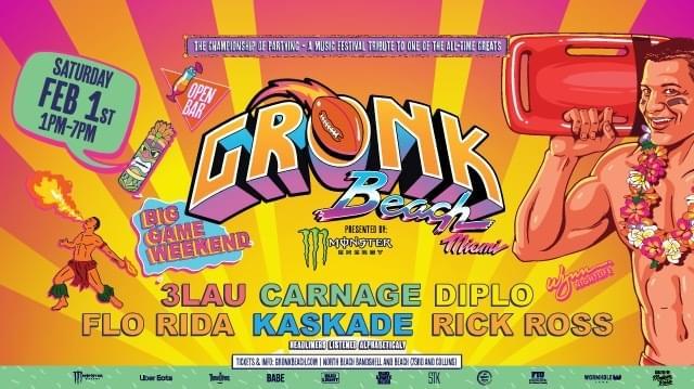 Gronk Beach Tickets