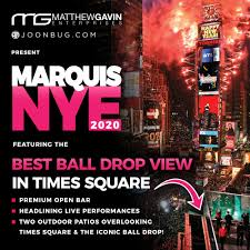 Marquis New Year's Eve in Times Square