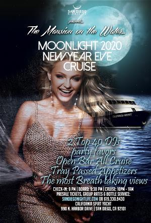 San Diego Pier Pressure NYE Party Cruise 2020