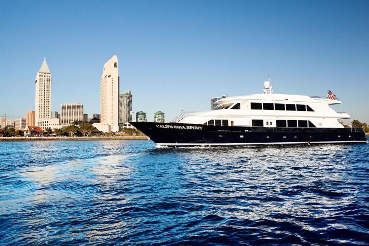 The California Spirit Yacht San Diego NYE PIER PRESSURE, SAN DIEGO PIER PRESSURE NYE PARTY CRUISE 2020