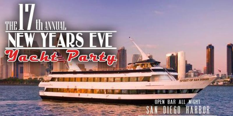 NYE Yacht Party San Diego Promo Code, NYE Yacht Party San Diego 2020, NYE Spirit of San Diego Party, NYE San Diego Boat Party, Best San Diego New Year's Eve Parties