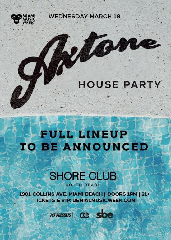 Shore Club MMW 2020 Pool party Promo Code Axtone