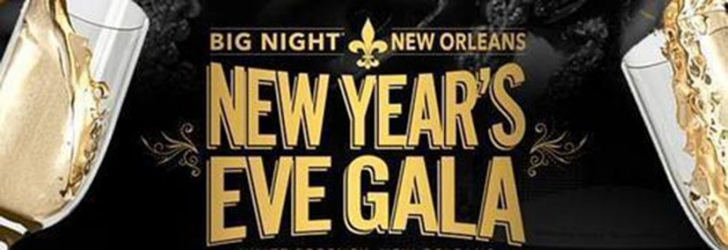 Big Night New Orleans NYE Promo Code, 2021, New Years Eve Party, Discount TIckets, GA, VIP Bottle Service, Best New Orleans NYE Parties