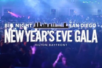 Big Night San Diego NYE Promo Code, 2021, New Years Eve Party, Discount TIckets, GA, VIP Bottel Service, Best San Diego NYE Parties