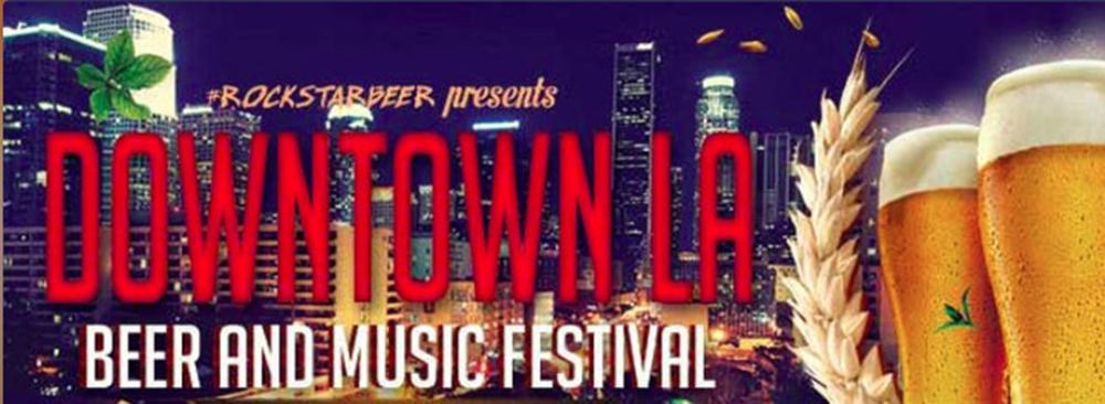 Downtown LA Beer and Music Festival Promo Code, Rockstar Beer Festival, Discount Tickets, Beer Tasting, Craft Beer, Best Beer Festivals in LA