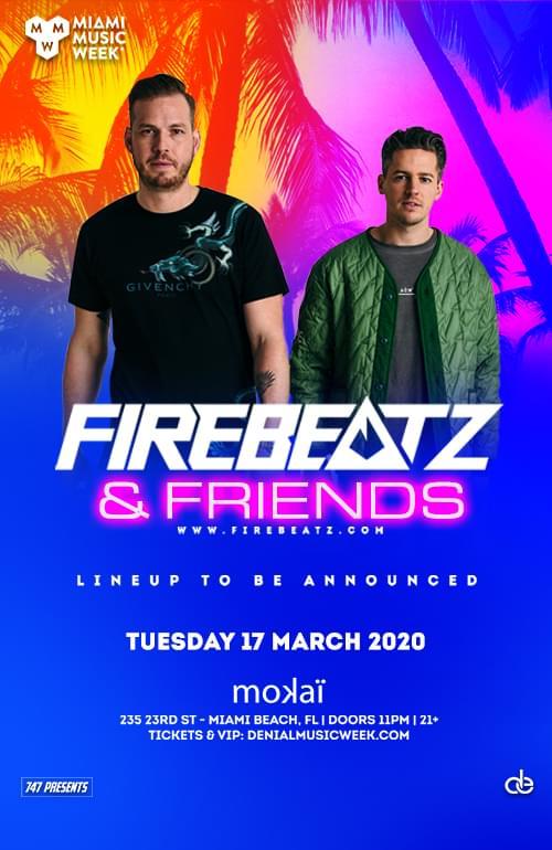 Firebeatz and friends mmw 2020 promo code discount tickets