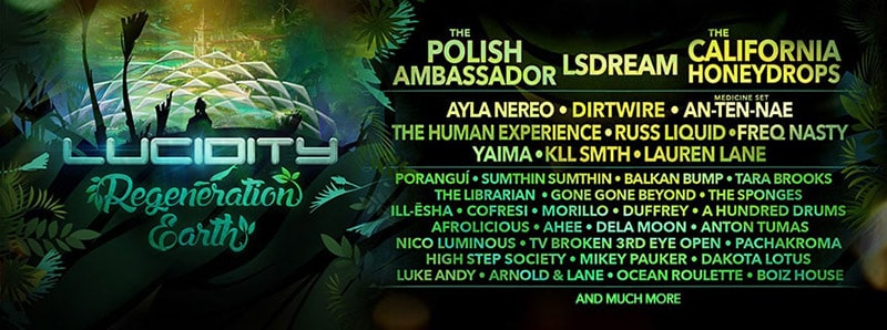 Lucidity Lineup