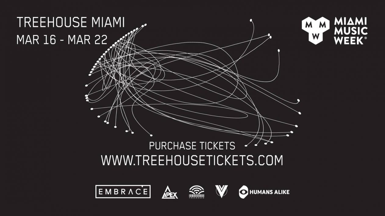 Treehouse Miami Music Week Discount pass 2020