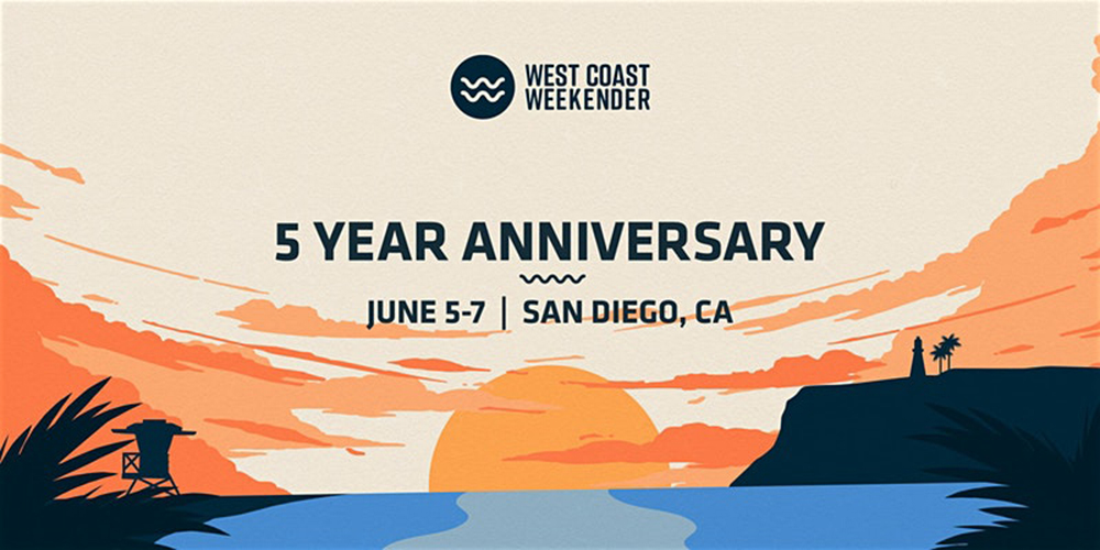West Coast Weekender Promo Code, Discount Tickets, GA Tickets, VIP Passes, San Diego CA, Best San Diego 2020 Events, The Lafayette Hotel