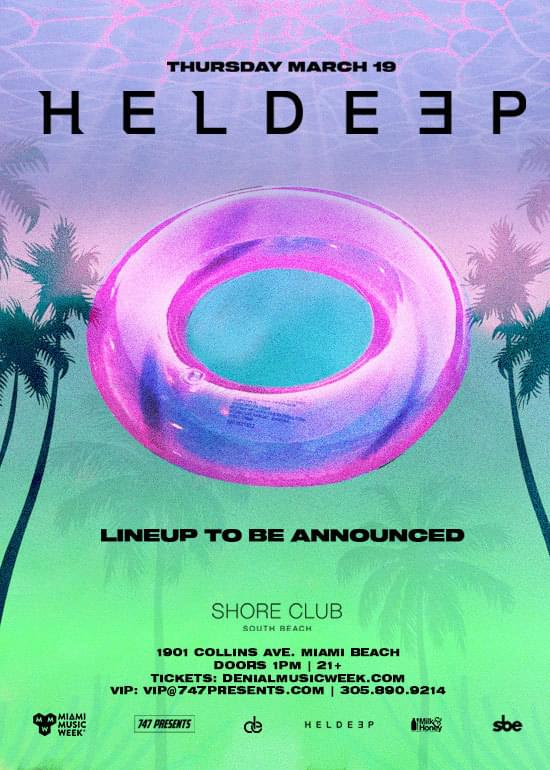 MMW heldeep records shore club promo code discount tickets