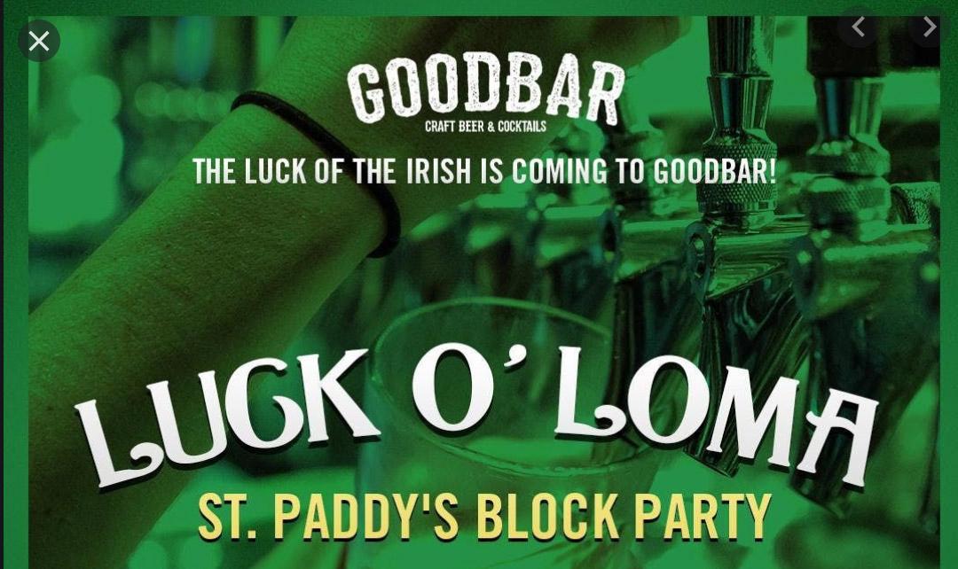 Luck O Loma St Patricks Day Goodbar Promo Code, St Patricks Day Party San Diego 2020, Best St Patricks day party 2020