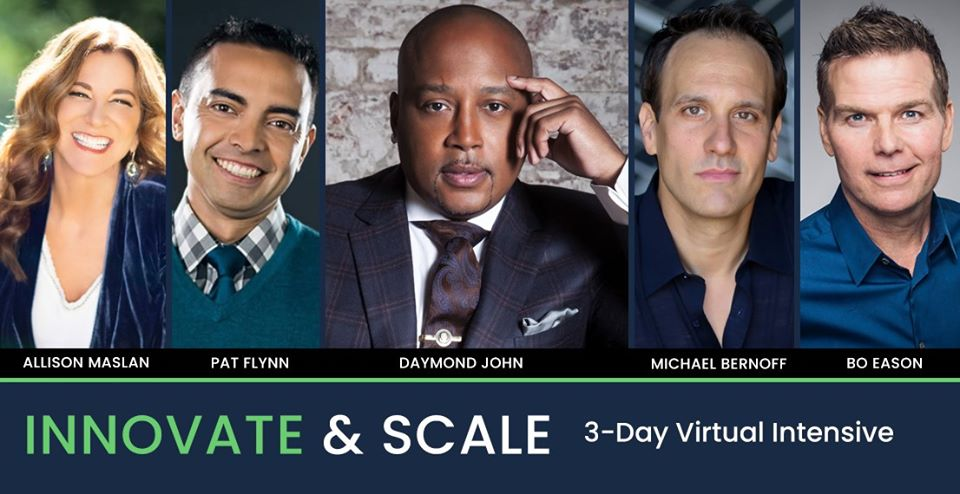 Innovate and Scale Virtual Intensive Tickets Promo Code discount